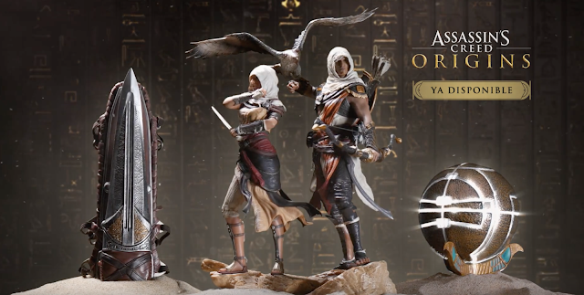 El merchandising de Assassin's Creed Origins en vídeo