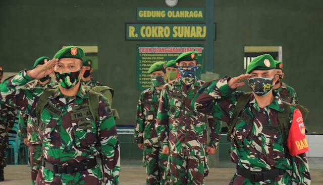 Dua Prajurit Terbaik Kodim Purbalingga Berangkat Tugas Ke Papua