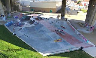 Skatepark arcueil éclairé semi couvert