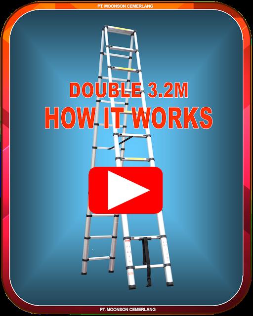 Tangga Double 3.2m