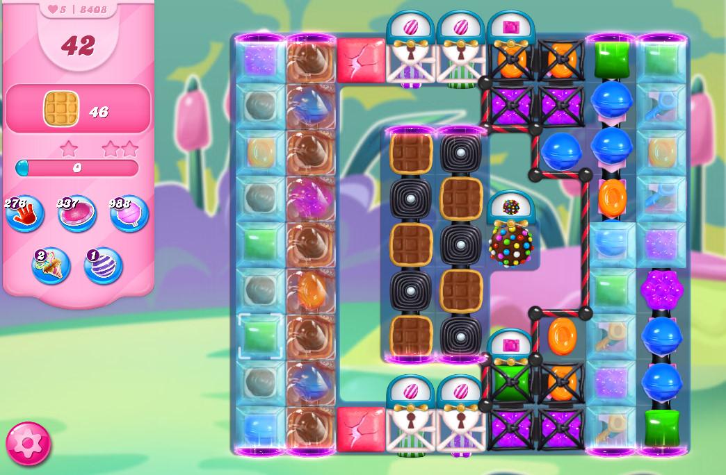 Candy Crush Saga level 8408