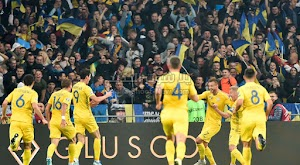 اوكرانيا تحقق فوز مثير على البرتغال بهدفين لهدف وتتاهل ليورو 2020