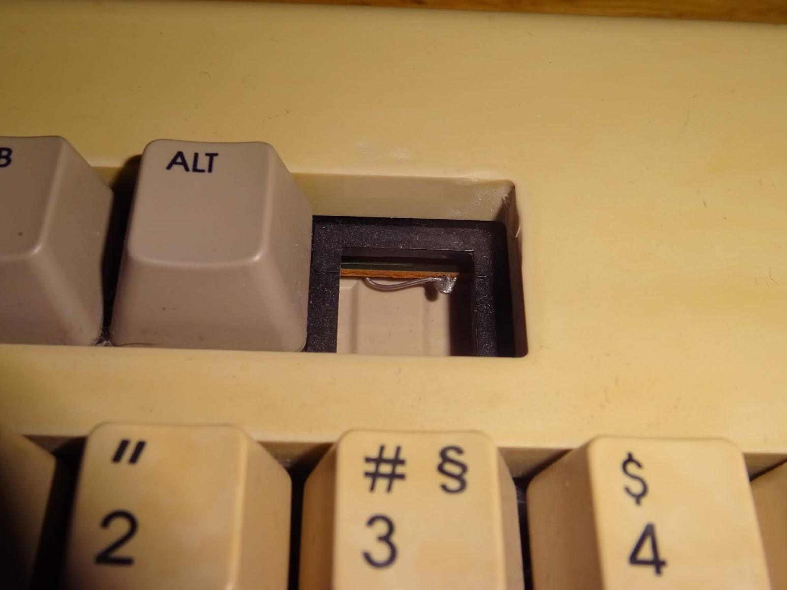 Tynemouth Software: Commodore 128 Keyboard repairs