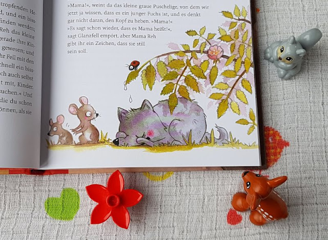 """Kirsten Boies """"Vom Fuchs, der ein Reh sein wollte"""": Ein Kinderbuch vom Fremdsein und der Herzensentscheidung für ein Pflegekind. Das Buch thematisiert die Aufnahme eines fremden Kindes in eine neue Familie mit allen Herausforderungen, die dazu gehören, auch Trauer und Angst."""