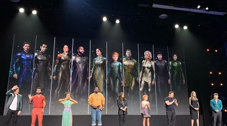 The Eternals latest marvel movies 2021