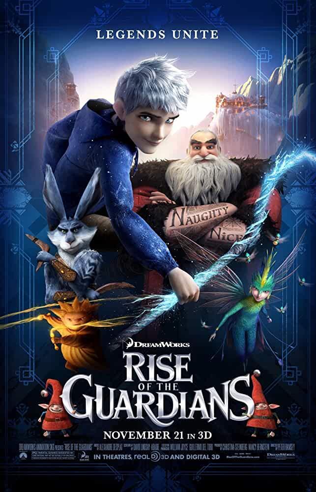 Rise of the Guardians 2012 720p 1GB BRRip Dual Audio