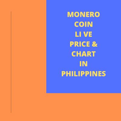 Monero cryptocurrency price chart