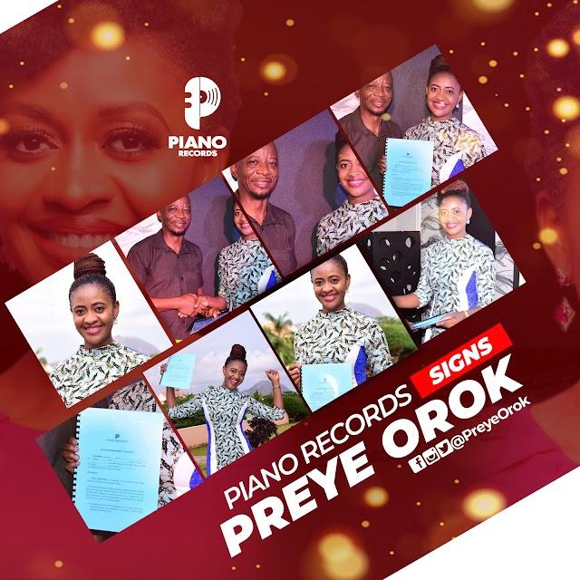 Congratulations! PIANO RECORDS SIGNS PREYE OROK  | @preyeorok