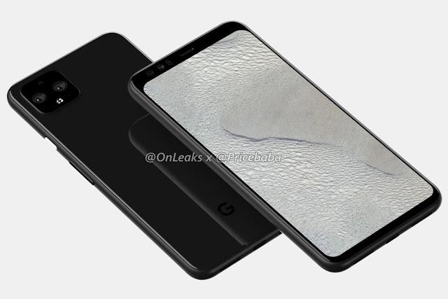 नया Pixel 4 XL रेंडर हमें Google के आगामी फोन में एक झलक देता है