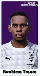 PES 2021 Faces Ibrahima Traore by Shaft