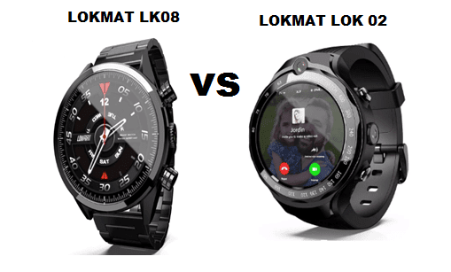 LOKMAT LK08 VS LOKMAT LOK 02 SmartWatch Comparison