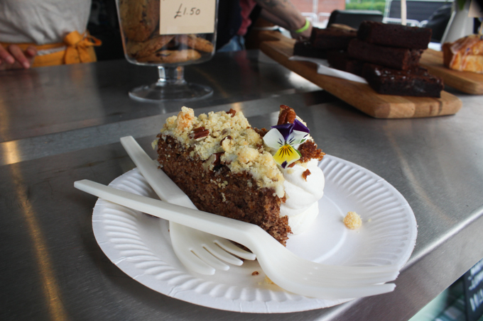 Noisette Bakehouse cake at Leeds Feast