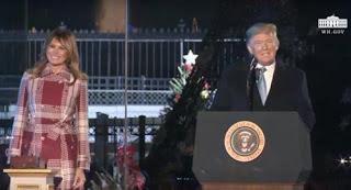 """ترامب: الصليب بمثابة """"تذكير قوي لنا بمعنى عيد الميلاد"""""""