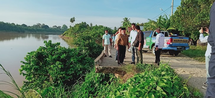 Keliling Sumay, Tebu Ulu dan Serai Serumpun, Al Haris Pantau Titik Rawan Jalan Padang Lamo