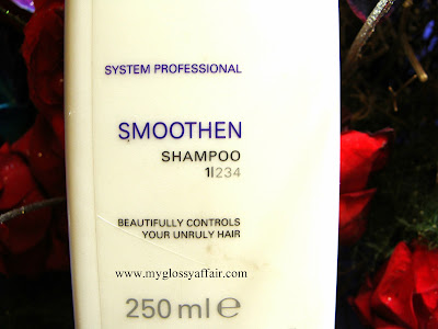 Wella  SP Smoothen Shampoo, Review and Price