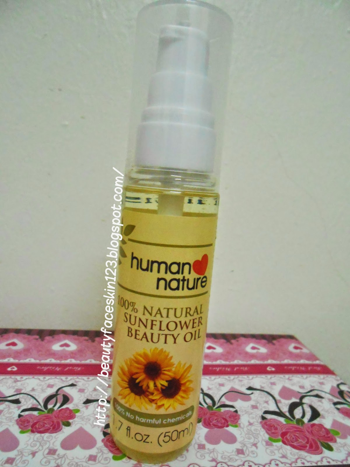HUMAN NATURE SUNFLOWER BEAUTY FACE OIL