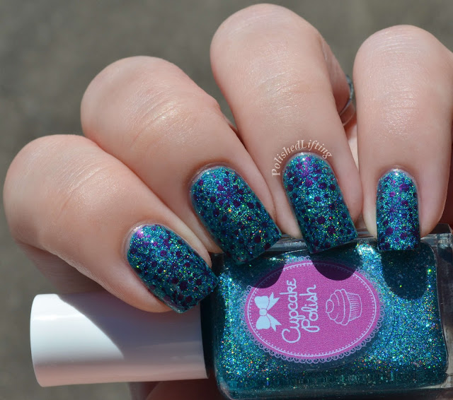 Cupcake Polish Bluebell Girls UberChic 1-01 Sally Hansen Insta Dri Pronto Purple