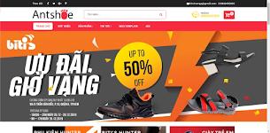 Ant Shoe Shop Responsive Blogger Template