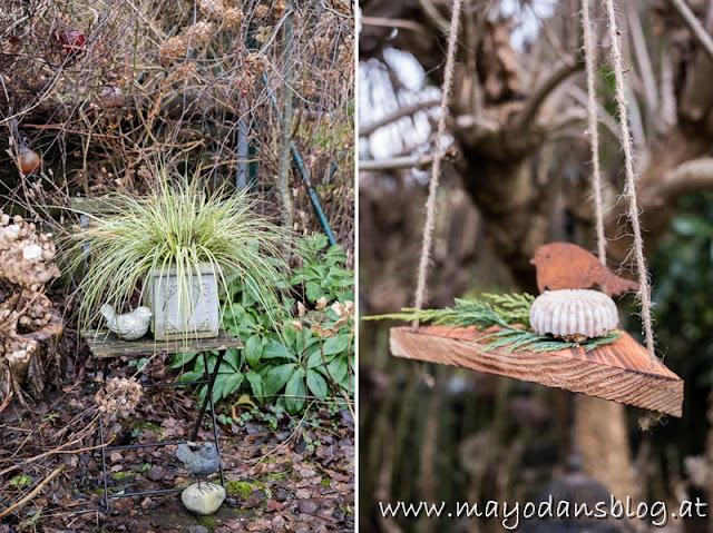 Futterkuchen für Gartenvögel