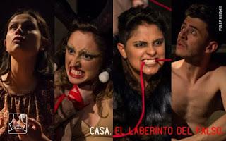 El laberinto falso - Teatro La Maldita Vanidad Bogota 2019