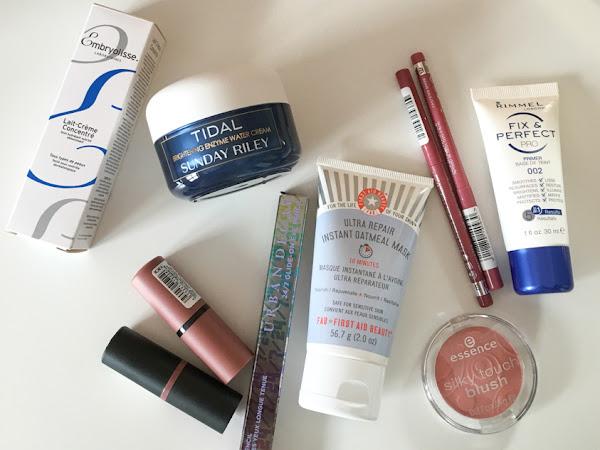 Beauty Buys/Beauty Haul - Sunday Riley, Rimmel, Urban Decay, FAB etc