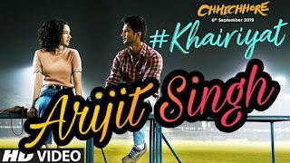 Khairiyat Chords- Arijit Singh | Chhichhore