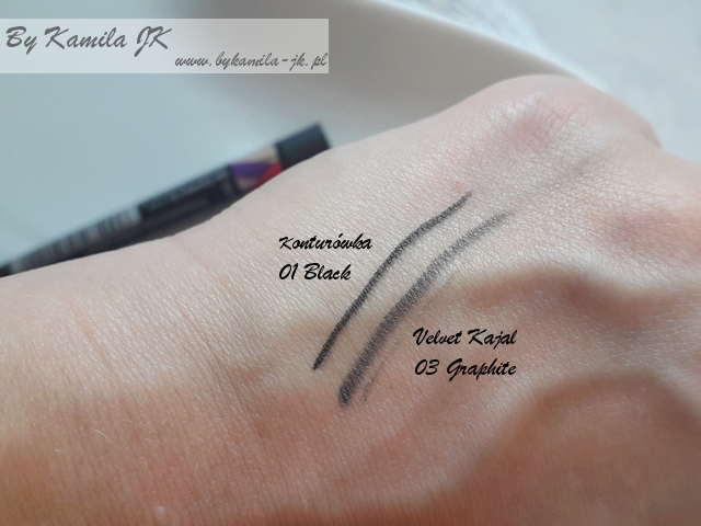 Celia przegląd kosmetyków do makijażu z linii ART kredki do oczu swatche