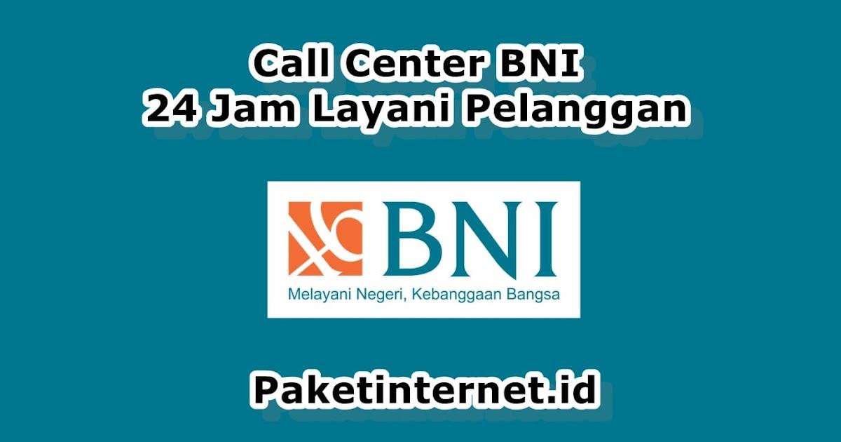 Alamat Cabang Call Center Bni Propinsi Banten Lengkap Paket Internet