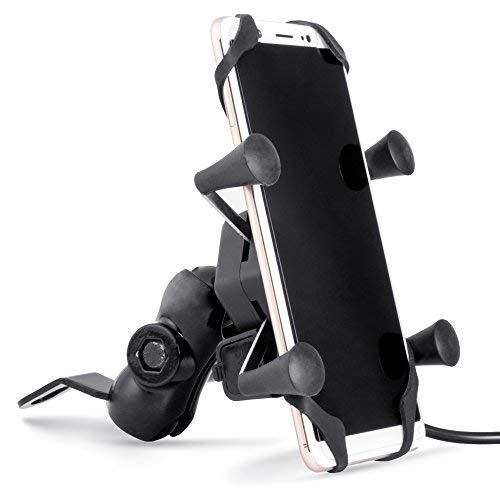 Autofy A-12 X-Grip Bike Mobile Charger & Phone Holder