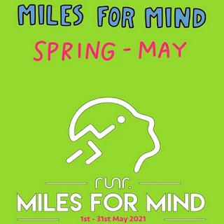 Miles For Mind -  Spring 2021 Logo