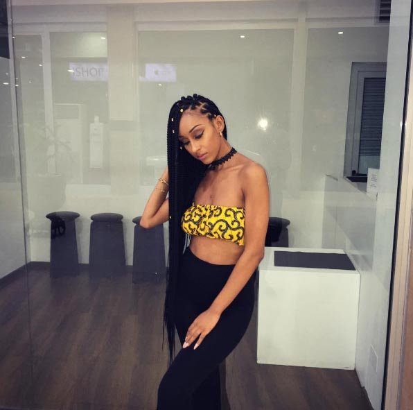 Ice Prince's sexy girlfriend Maima Nkewa shares cute photos but something is wrong..