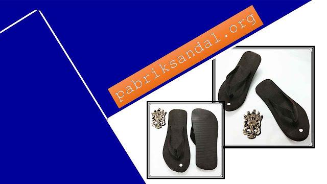 Pabrik Sandal Murah | Sandal Jepit AB Warna Hitam DWS