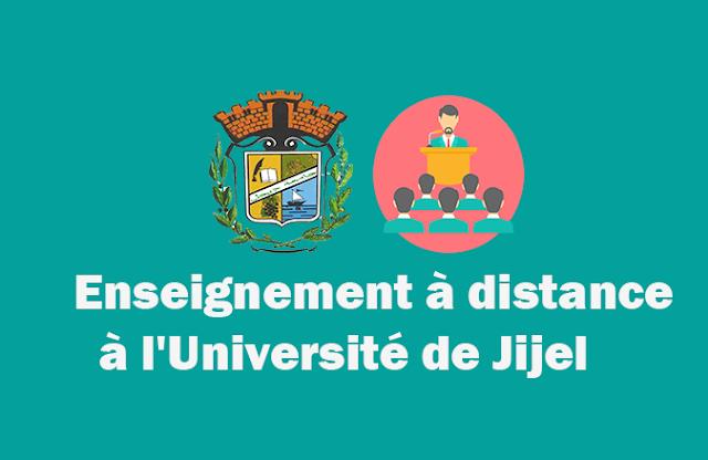 Enseignement à distance à l'Université de Jijel