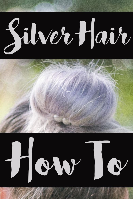 Silver Hair Pinterest