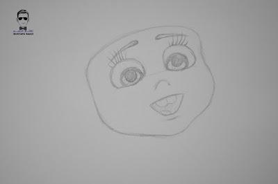 تعلم رسم فتاة صغيرة