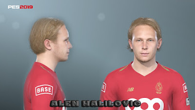 PES 2019 Faces Alen Halilović by Prince Hamiz