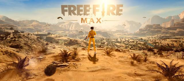 Free Fire Max Logo PNG Transparant Wallpaper HD