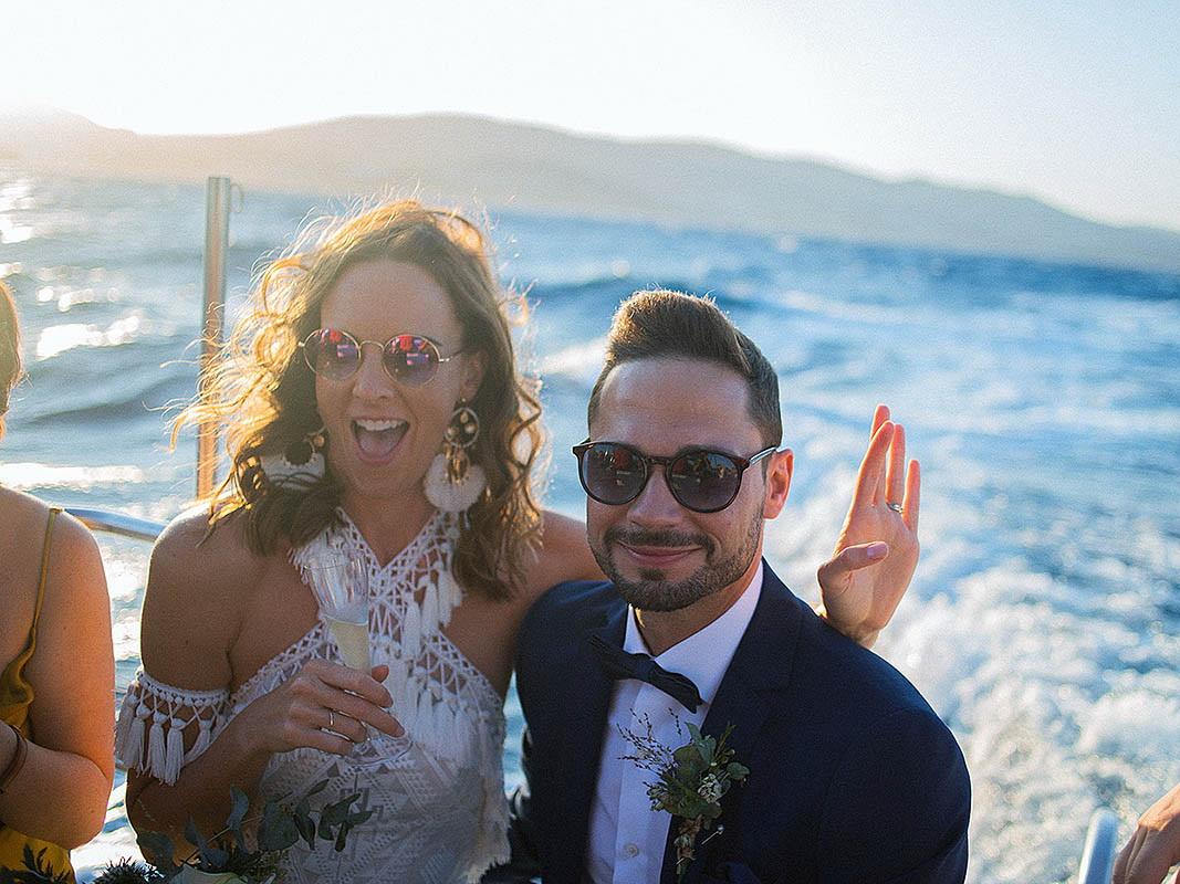 Φωτογράφιση γάμου στη Σαμοθράκη