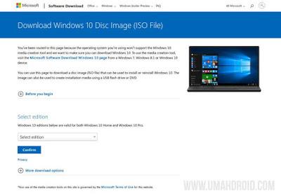 Microsoft Windows Disk Image (ISO)