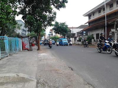 Jalan Brigjen Katamso (Jalan Kasin Kulon) Kota Malang, tempat Partai Acoma bernah berkantor. - http://jalanjalandikotamalang.blogspot.com