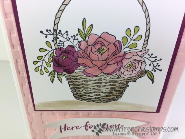 Blossoming Basket, Sale a Bration, Tip Video, Basket Weave, Stampin'Up!