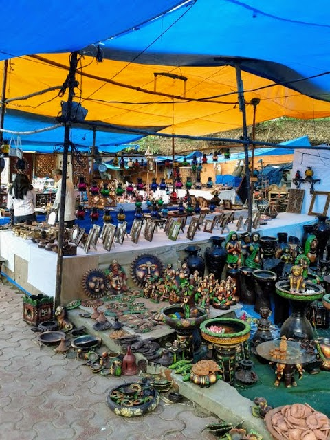 What to do in Hyderabad India: shop at Shilparamam Crafts Market