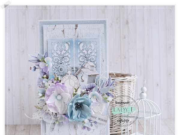 Shabby Chic Card with Old Door