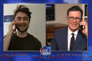 Daniel Radcliffe on The Late Show with Stephen Colbert