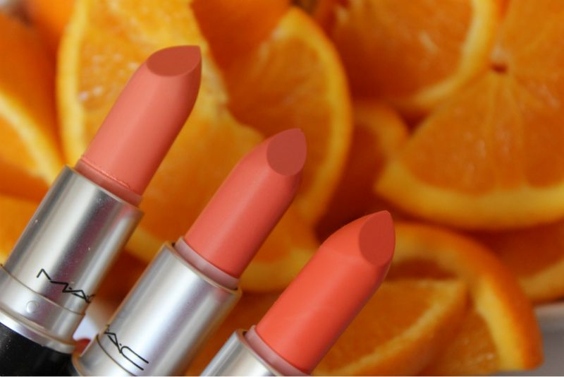 mac all about orange lipstick review