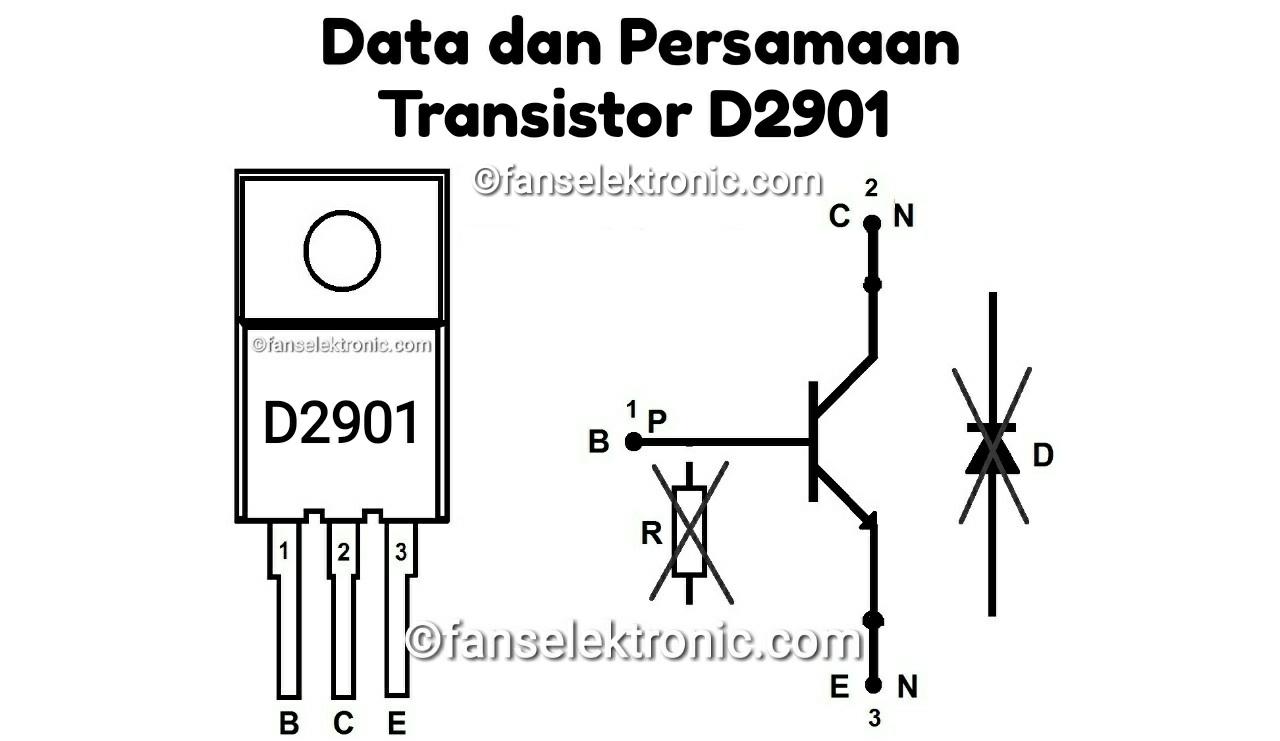 Persamaan Transistor D2901