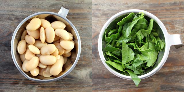 Oppskrift Bønnesuppe Spinat Suppe Hjemmelaget Sunn Store Hvite Bønner