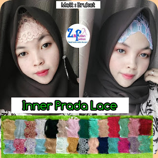 inner lace ribbon bahan renda