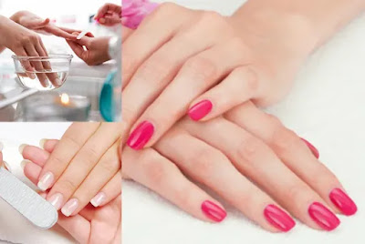 how to do a professional manicure step by step