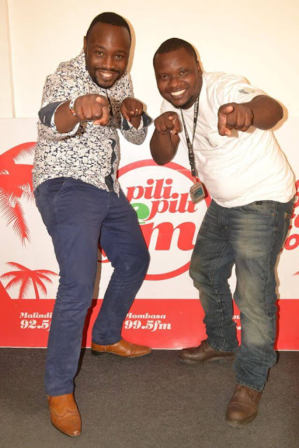 Criss & Chigz  Photo By  Pilipili FM